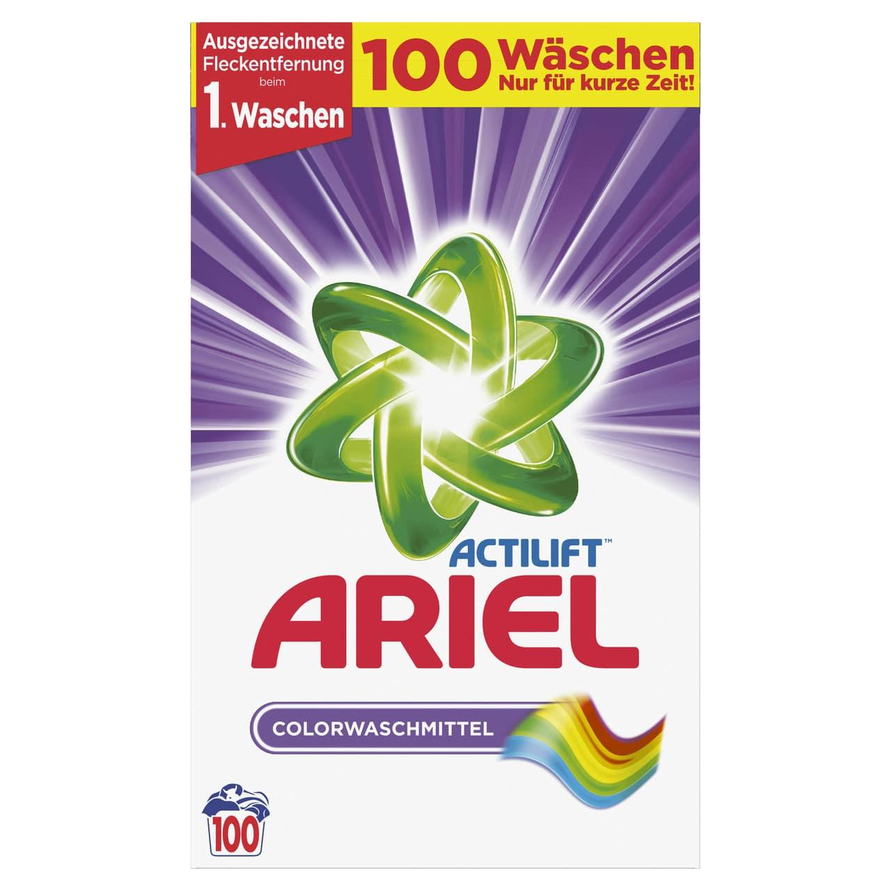 ARIEL COLOR, 100 WASHES, 6.500KG