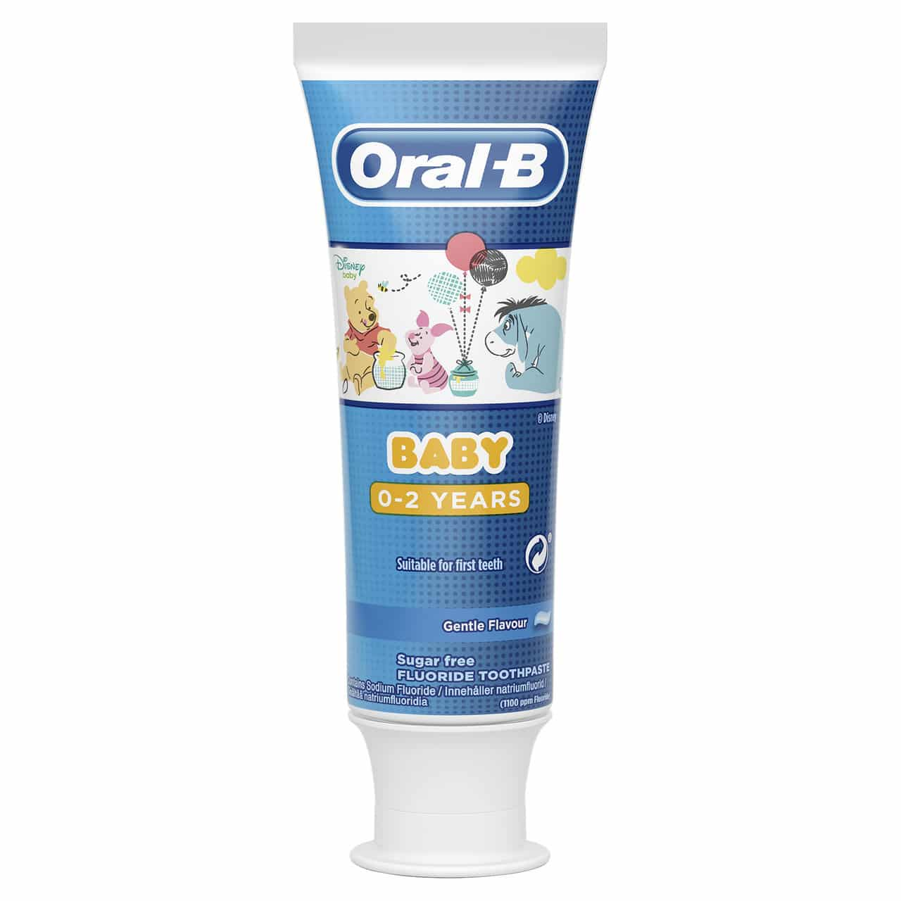 ORAL B TOOTHPASTE BABY 0-2YRS POOH (75ML)