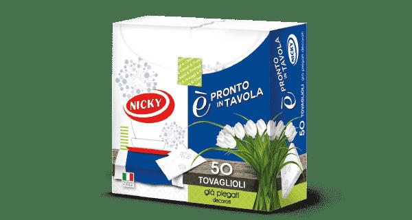 NICKY NAPKINS E PRONTO IN TAVOLA 2 PLY 50PCS
