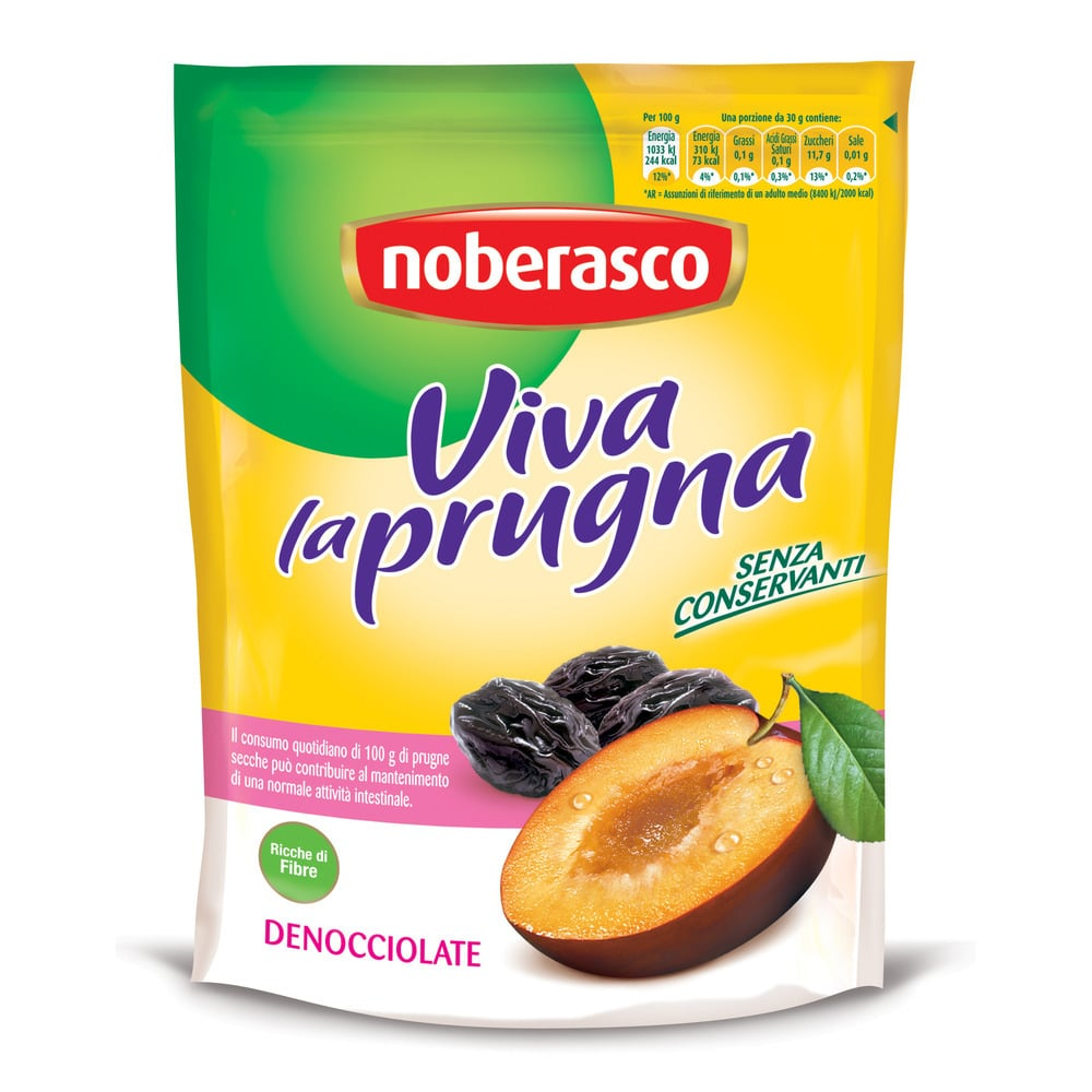 Noberasco Viva la Prugna - Soft Pitted Prunes Doy (200g)