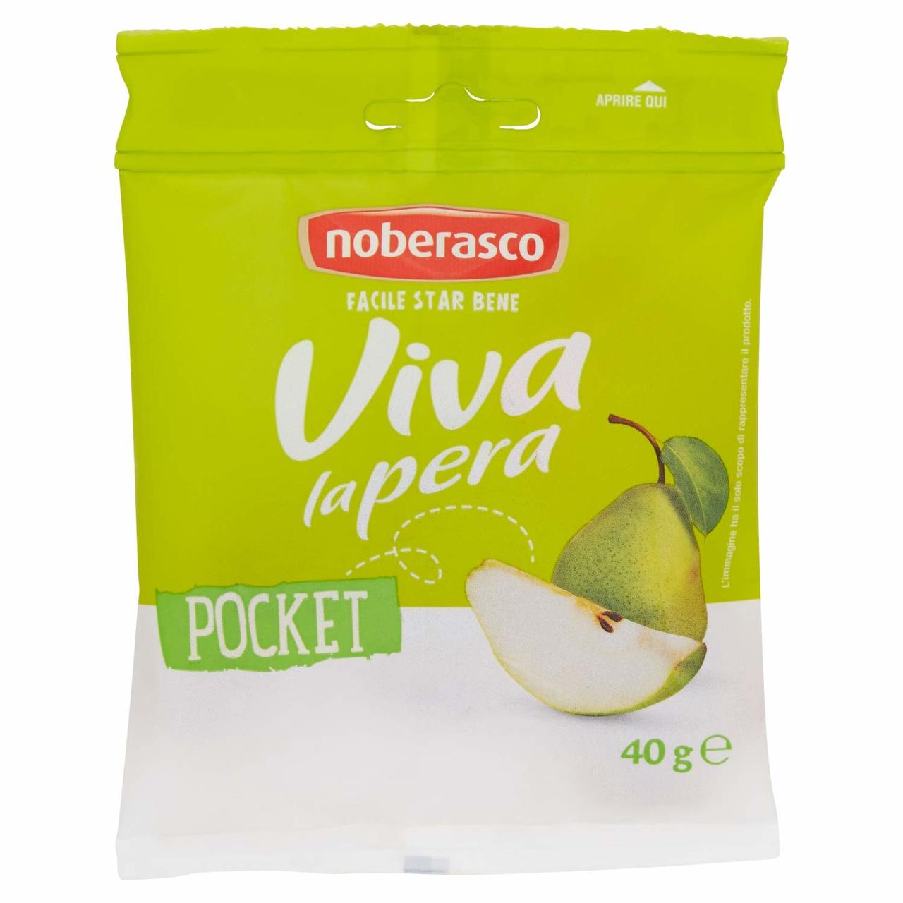 Noberasco Viva la Pera - Pear Pocket (40g) (NEW)