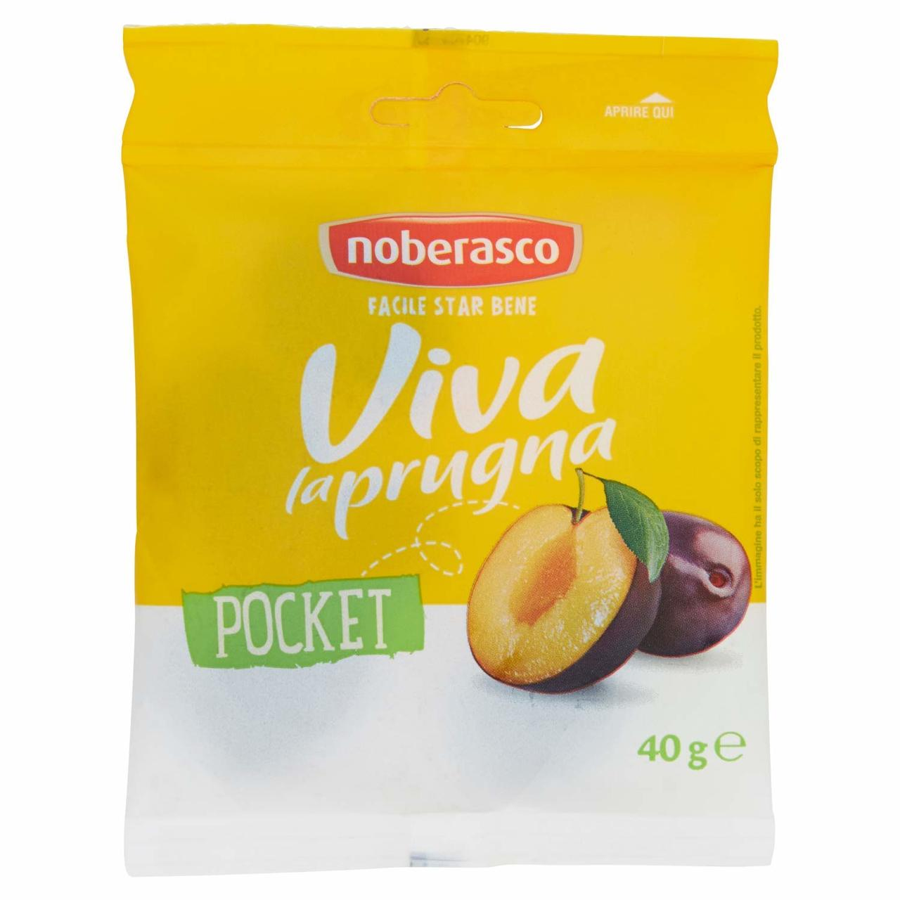 Noberasco Viva la Prugna - Prunes Pocket (40g) (NEW)