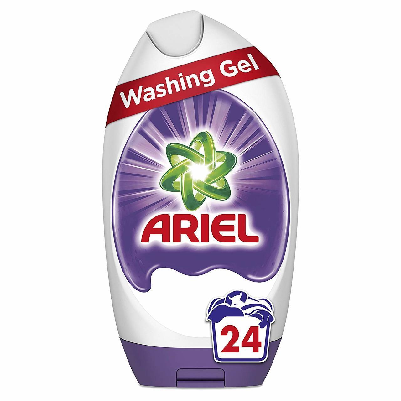 ARIEL WASHING GEL COLOR, 24 WASHES, 888ML