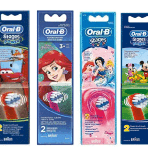 ORAL B POWER BRUSH HEAD STAGES KIDS x2s