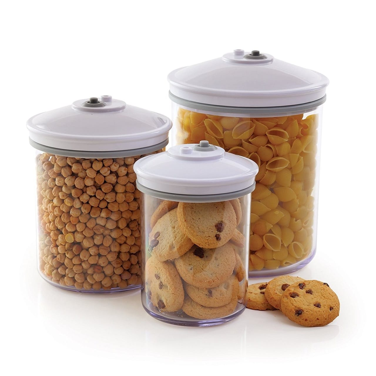 FOODSAVER STORAGE CANISTER SET X3