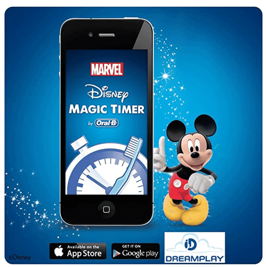 ORAL B POWER TOOTHBRUSH MUSICAL MICKEY - RECHARGE
