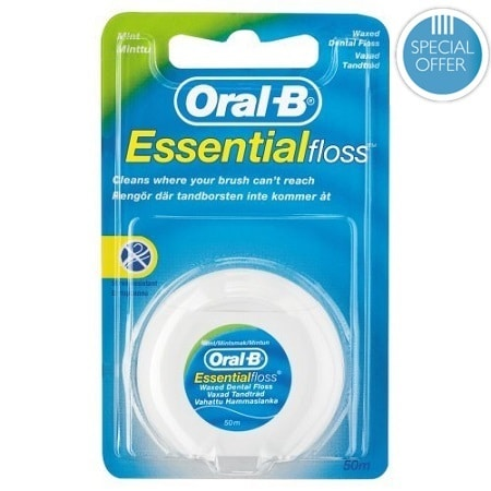 ORAL B FLOSS WAXED MINT (50M) - OFFER